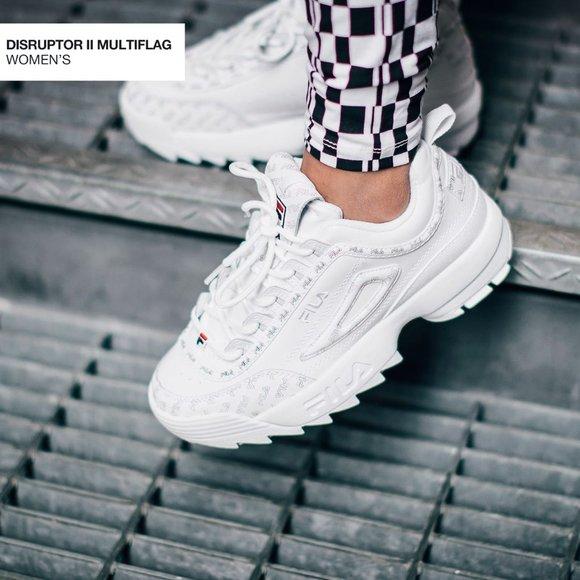 Fila Shoes   Womens Disruptor Ii